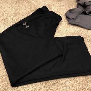 2 pair medium Under Armour Jersey Pants